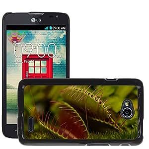 Cas Coq Case Cover // M00106461 Planta carnívora Naturaleza moscas Macro // LG Optimus L70 MS323