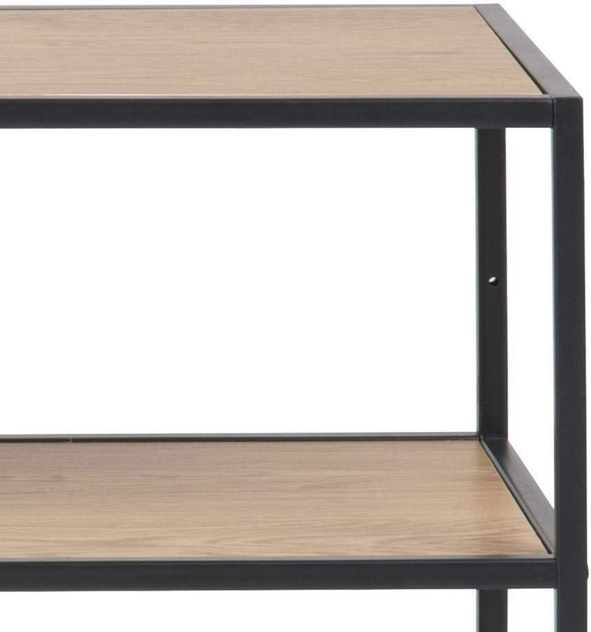 Movian Martin 35/x/77/x/114/cm Biblioth/èque Finition ch/êne Marque longueur/x/largeur/x/hauteur