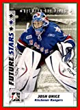2007-08 Between The Pipes #27 Josh Unice KITCHENER RANGERS