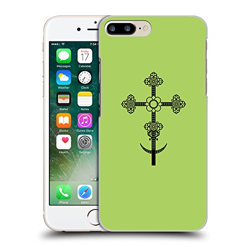 GoGoMobile Coque de Protection TPU Silicone Case pour // Q07860628 Christian Cross 11 poule // Apple iPhone 7 PLUS