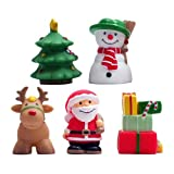 Xmas Party Bath Squirt Toys by Elegant Baby