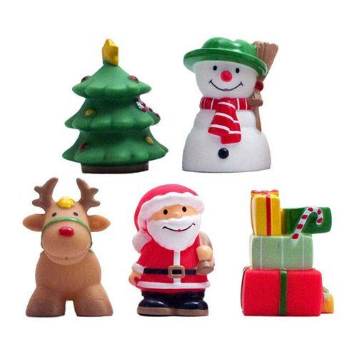 Xmas Party Bath Squirt Toys by Elegant Baby ()