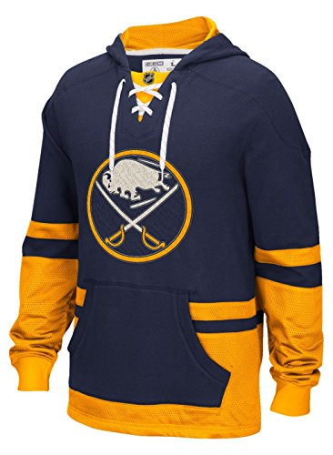 NHL Buffalo Sabres Men's CCM Pullover Hoodie, 2X-Large, Navy