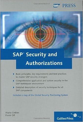 SA Security Authorizations Regulations Environment