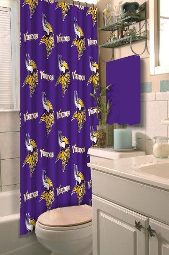 Northwest 903 NFL Minnesota Vikings Shower Curtain by Northwest