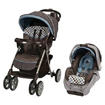 Amazon.com: Graco Alano Classic Connect Travel System ...
