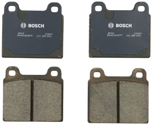 Ferrari Brake Pad - Bosch BP45 QuietCast Premium Semi-Metallic Disc Brake Pad Set For Select Alfa Romeo; BMW; Ferrari; Maserati; Mercedes-Benz; Porsche; Volkswagen + More; Front