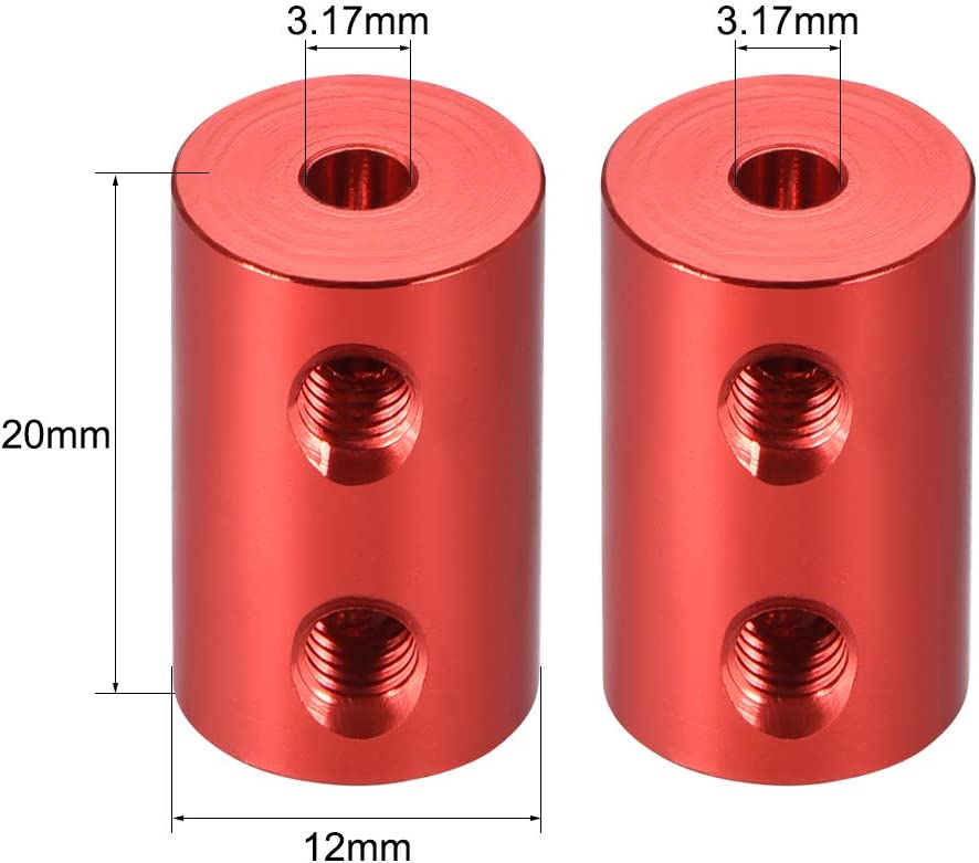 Sourcing Map Schaftkupplung starr Schrittmotor Radkupplung Stecker