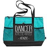 Dancer Athlete & Artist Kenzie: Gemline Select Zippered Tote Bag