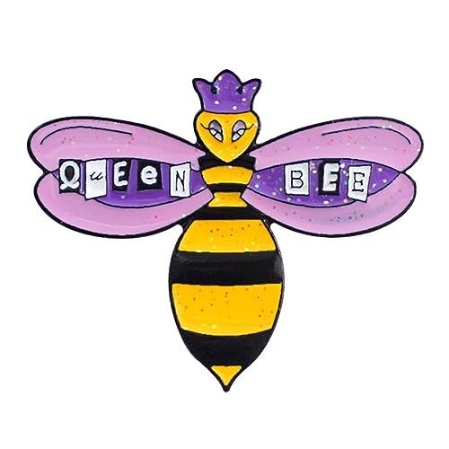 bismarckbeer_ Pin Insignias Esmalte Queen Bee Mujer Broche ...