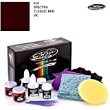 KIA SPECTRA / CLASSIC RED - VR / COLOR N DRIVE TOUCH UP PAINT SYSTEM FOR PAINT CHIPS AND SCRATCHES / PLUS PACK