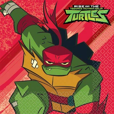 Kit N 66 Tortugas Ninja coordinado Platos Vasos servilletas ...