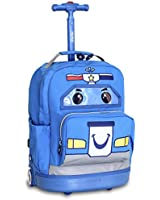 J World New York Patrol Kids' Rolling Backpack