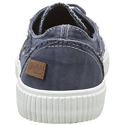 8d752c117d durable service Blowfish Cablee - Navy Washed Canvas (Textile) Womens  Trainers