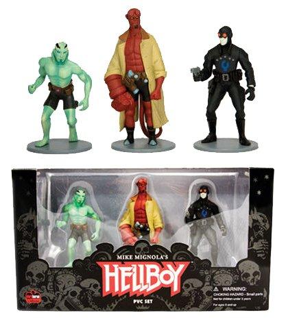Fantastic 4 Costume Replica (Dark Horse Comics - Hellboy pack 3 figurines 10 cm)