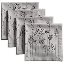 Maison d' Hermine Flore 100% Cotton Set of 4 Napkins 20 Inch by 20 Inch