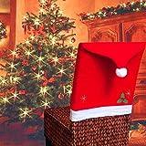 Koogel Christmas Chair Covers,4 Pcs 25x20inch
