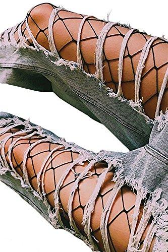 Hole Leggings - 4
