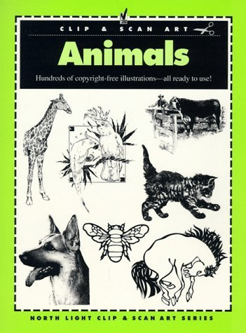 - Animals: Hundreds of Copyright-Free Illustrations : All Ready to Use! (North Light Clip Art) by North Light Books (1992-09-03)