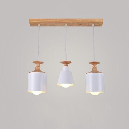 ZHANGRONG-Lampadari- Lampadari da cucina in legno massiccio nordico ...