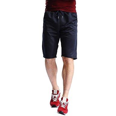 🌾🌾Amlaiworld Mode 1 2 locker Sport Band Shorts Yoga Kordelzug elastische  Taillen Freizeithose fsommer Strand Jogginghose Herren Gemütlich Pants  ... b00602622d