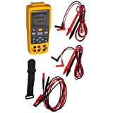 Fluke-712B RTD Temperature Calibrator, Yellow/Brown/Black/Red