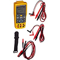 Fluke Fluke-712B RTD Temperature Calibrator, Yellow/Brown/Black/Red