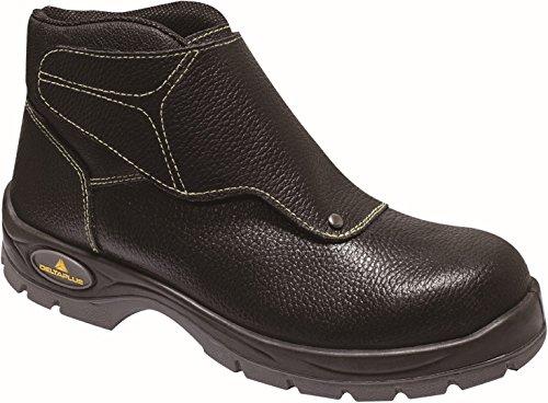 Chaussure haute avec rabat cuir croupon pigmenté COBRA3 S3 - 39