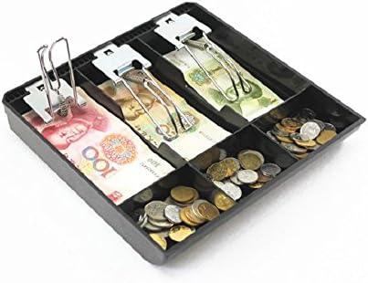 Guanhe Caja registradora para negocio. de 3 compartimentos. Para guardar el efectivo.: Amazon.es: Bricolaje y herramientas