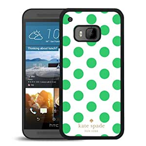 New Fashion Custom Designed Kate Spade Cover Case For HTC ONE M9 Black Phone Case 296