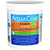 Aqua Coat, Best Wood Grain Filler. Clear Gel, Water based, Low Odor, Fast Drying, Non Toxic, Environmentally Safe. Pint.