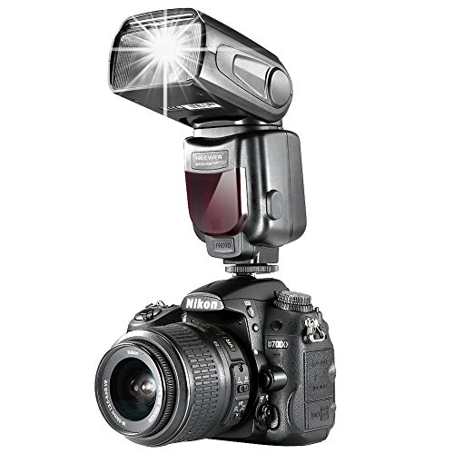 Neewer NW-561 GN38 Manual LCD Display Speedlite Flash Kit for Canon Nikon and Other DSLR Cameras, Includes: NW561 Flash, Hard Diffuser, CT-16 Wireless Trigger