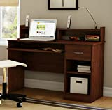 South Shore Small Desk - Great Writing Desk for Your Child - The Computer Desk Is Great for Your Kid's Bedroom or Any Small Area - Place a Laptop in This Study Table - 5 Years Warranty! (Royal Cherry)