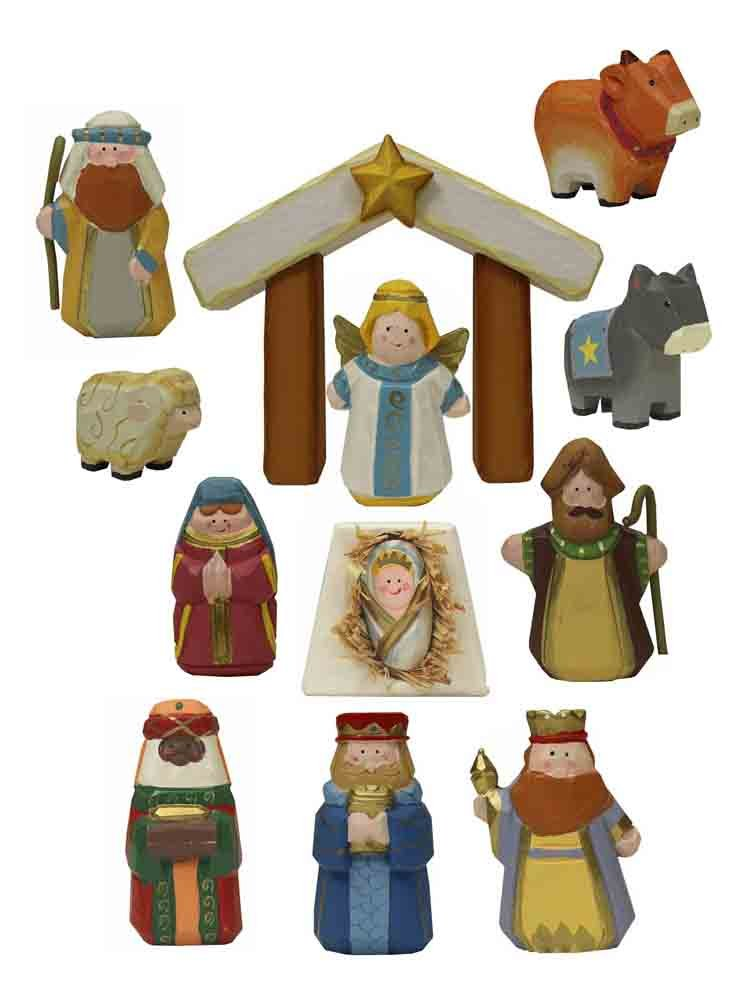 Childrens First Nativity Set [J3764]