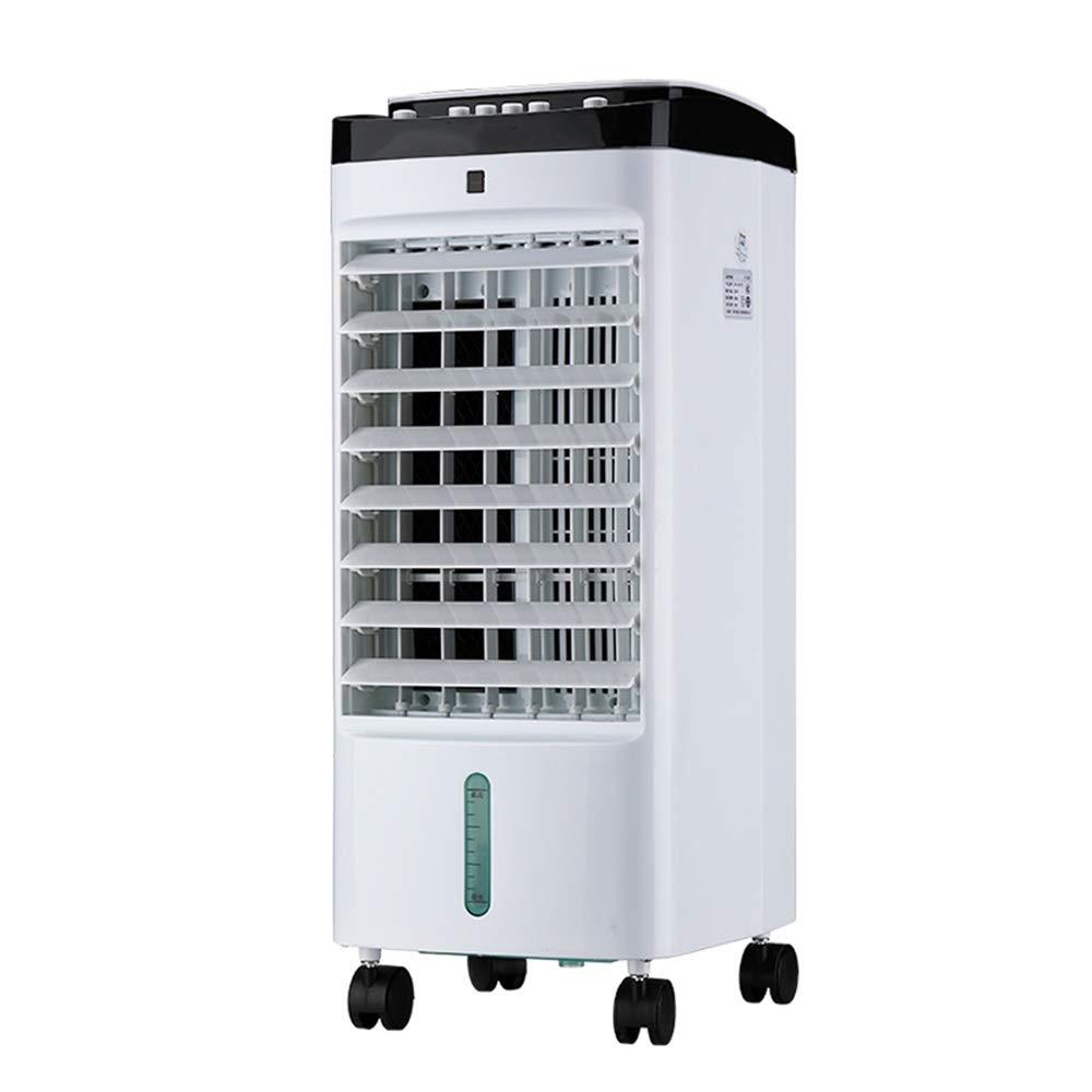WANG 扇風機 65W携帯用蒸発の空気クーラー、3つのファンの速度、5リットルの水漕、家またはオフィスの使用のために適した B07T98FNGB