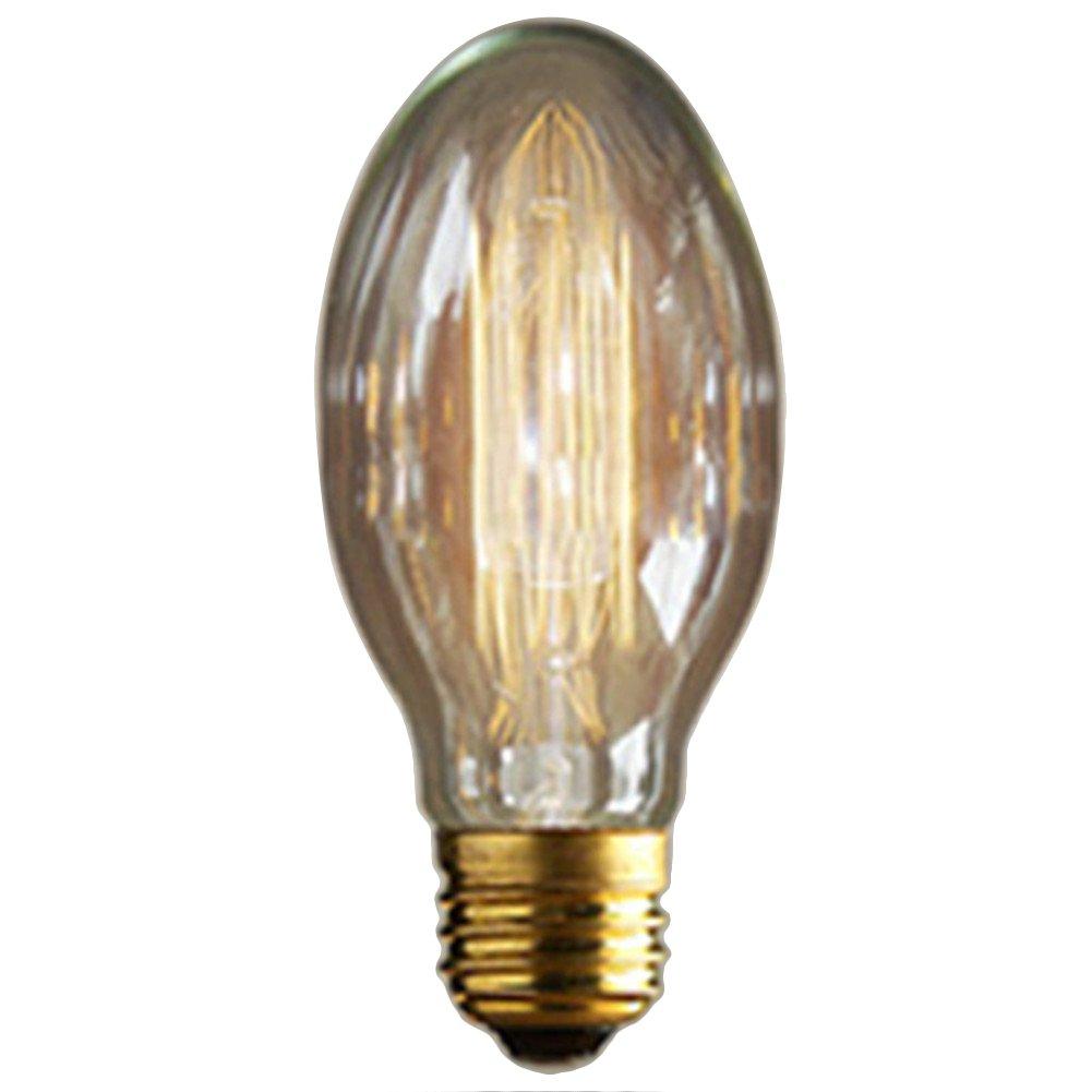 E14 40 W Vintage Bombilla de filamento Retro lá mparas de estilo industrial edison Lá mpara 220 V cristal antiguo lá mpara [clase energé tica A] BulzEU