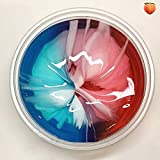 Autumn Water Colorful Cloud Slime Fluffy Mud Crystal DIY Soft Clay Transparent Clear Slime Plasticine Vent Anti Stress Squish Education Toys