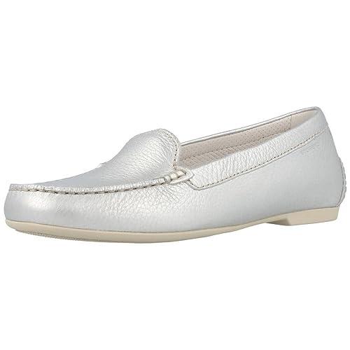 Mocasines para Mujer, Color Plateado, Marca STONEFLY, Modelo Mocasines para Mujer STONEFLY 106131 Plateado: Amazon.es: Zapatos y complementos