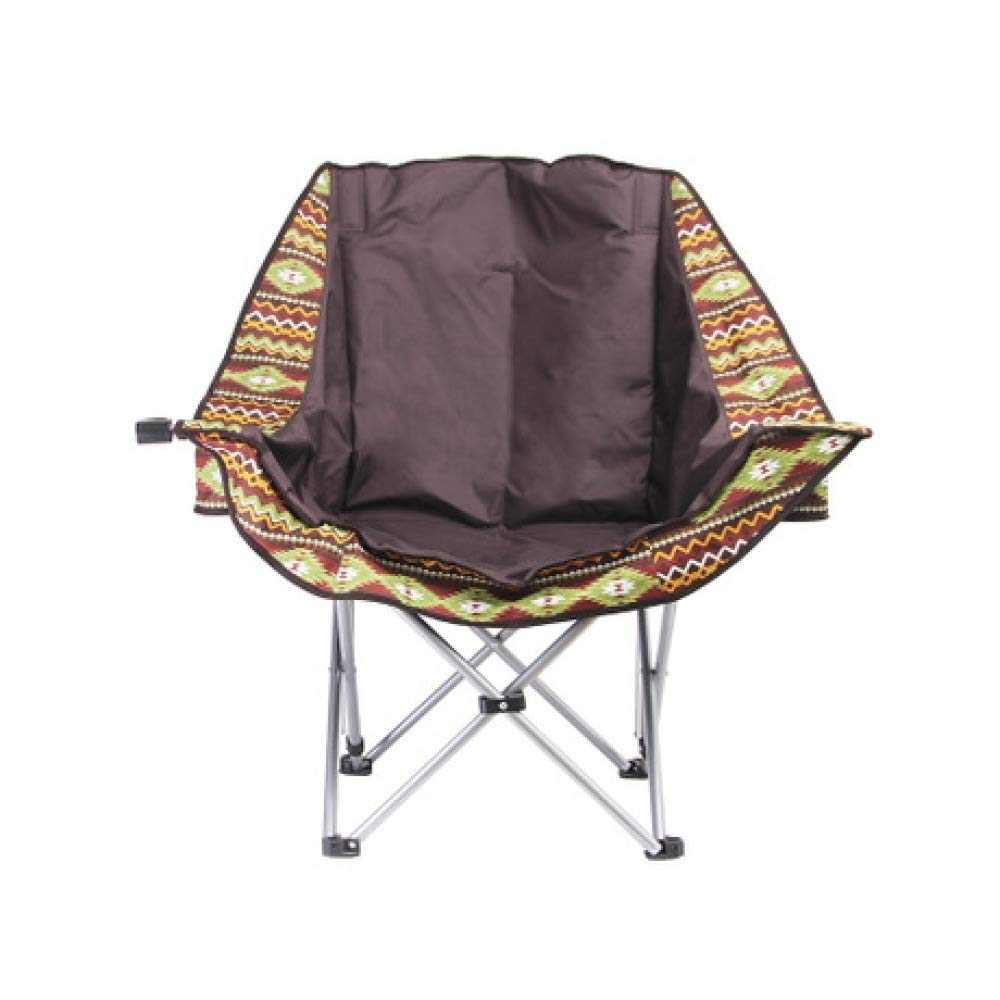 Outdoor Portable Folding Chair Camping Stool Aluminum Alloy with Back Cup Holder Leisure Picnic Travel Fishing Mountaineering Barbecue Park Adventure Beach