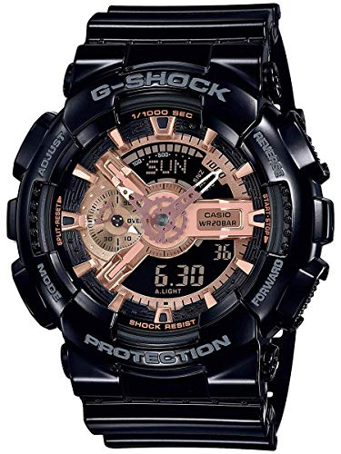G-Shock Men's GA110MMC-1A Black One ()
