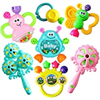 Leorealko Toys & Games,Baby Rattles,Pram Toys,Baby Toys,Early Development & Activity Toys,Baby Products,Toddler Toys,Cot Toys & Attachments,Rattles