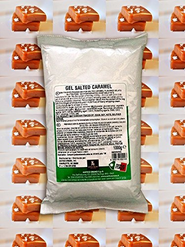 Sea Salt Caramel Gelato Mix