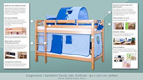 Etagenbett David : David hochbett für kinder by mathy bols design