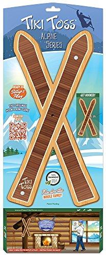 Tiki Toss Alpine Series Ski Edition Toss Game