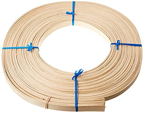 Commonwealth Basket Flat Reed, 5/8-Inch 1-Pound Coil, Approximately 120-Feet - Reed & Barton Airplane