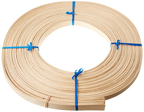 Commonwealth Basket Flat Reed, 5/8-Inch 1-Pound Coil, Approximately 120-Feet (Flat 1 Reed)