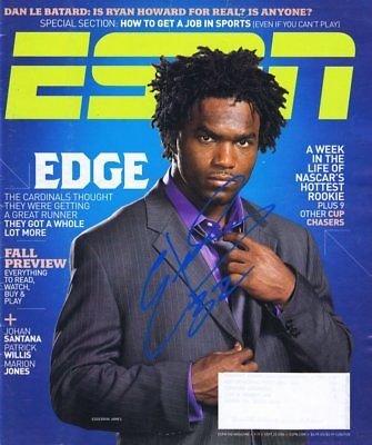 Edgerrin James Signed Sept 25 2006 ESPN the Magazine Full Issue Cardinals Miami