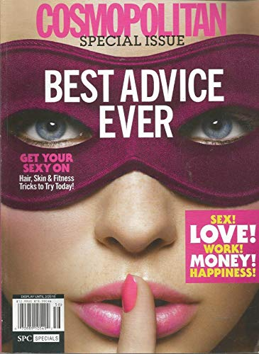 COSMOPOLITAN MAGAZINE, SPECIAL ISSUE, BEST ADVICE EVER, 2016 ~