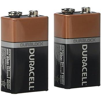 duracell alkaline 9v battery mn1604 pack of 2 health personal care. Black Bedroom Furniture Sets. Home Design Ideas
