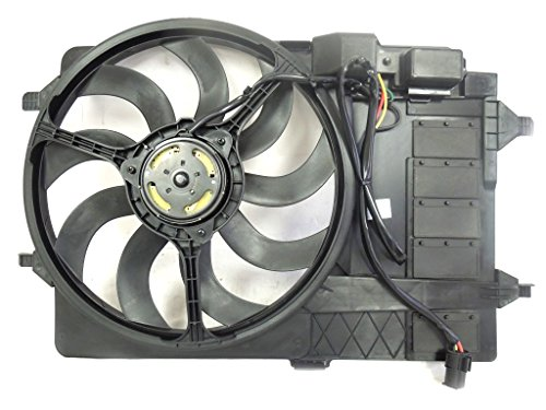 Dual Radiator and Condenser Fan Assembly - Cooling Direct For/Fit MC3115102 Mar'03-08 Mini Cooper/Cooper-S